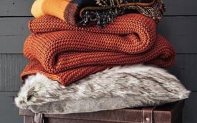 Sweaters folded